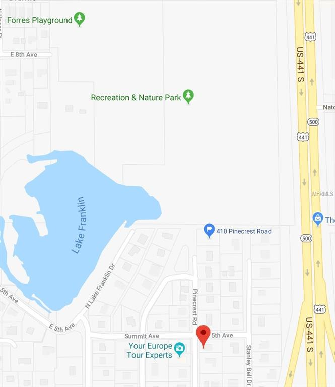 Lake Dora Florida Map.410 Pinecrest Road Mount Dora 32757 Fannie Hillman Associates